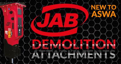 JAB Demolition Attachments Now Available