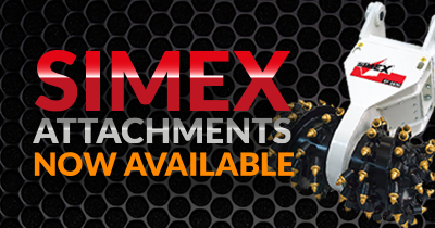 Simex Attachments Now Available